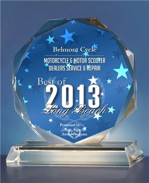 I am pleased to announce that Belmont Cycle has been selected for the 2013 Best