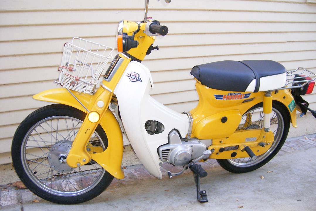 Modern Vespa : What was your first scooter?